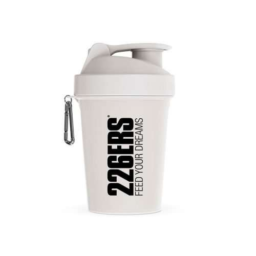 SHAKER WHITE – Black logo 600ML