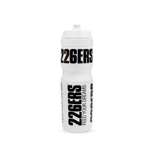 BOTTLE 1L WHITE – BLACK LOGO
